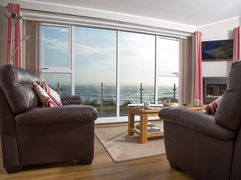 Stunning views from the lounge area