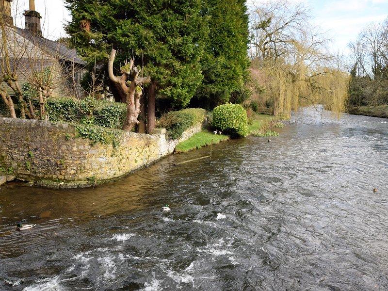 Beautiful river which runs through the village