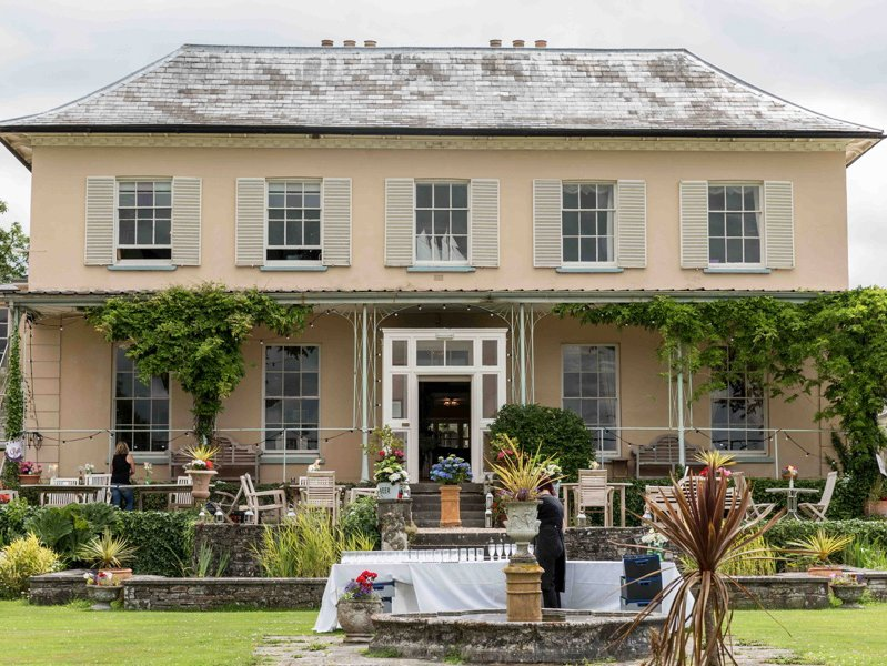 The house is also available as a wedding venue,by separate arrangement