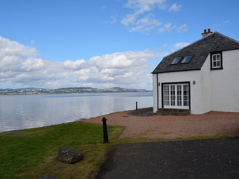 Stunning views towards the house over the River Tay