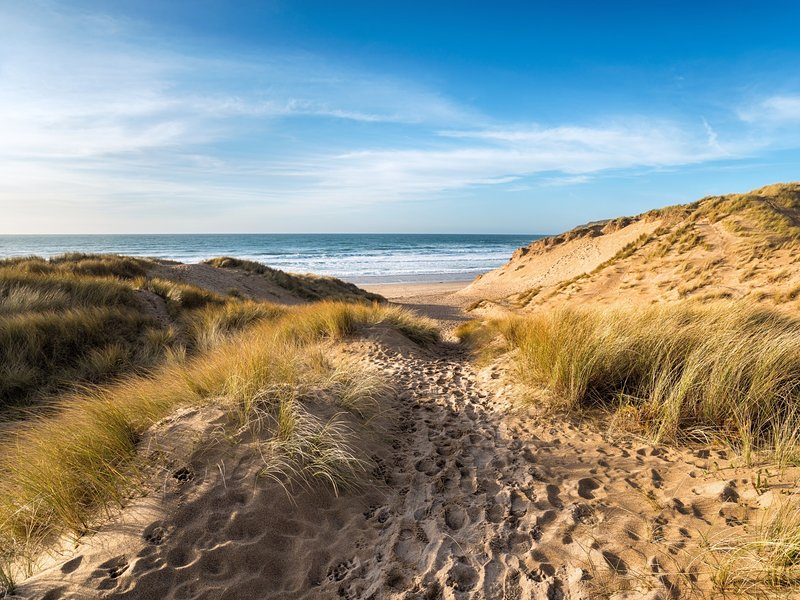 Just a five minute walk to Camber Sands beach