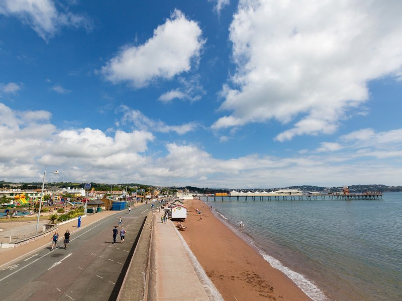 The historic seaside town of Paignton