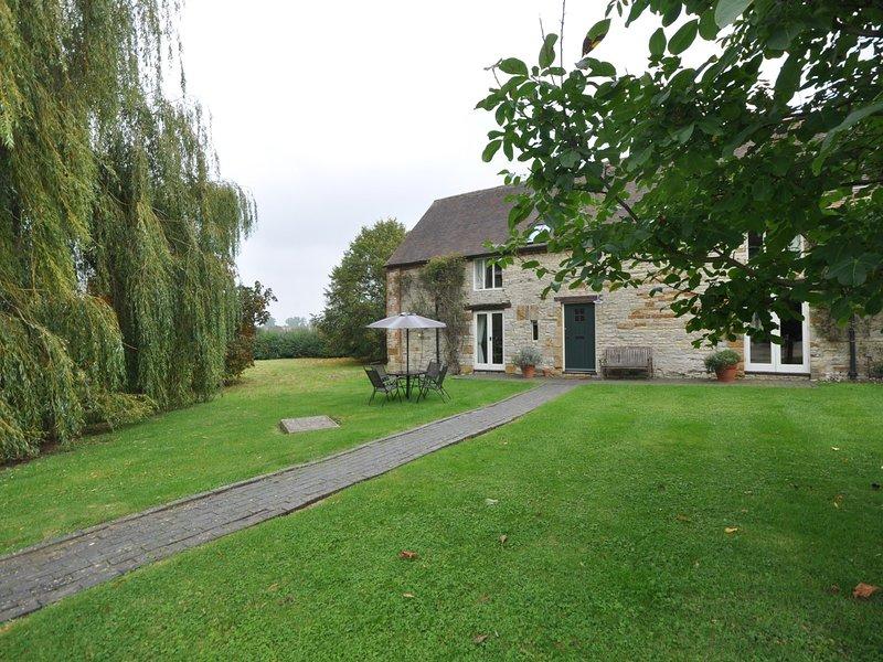 Vista laterale del cottage