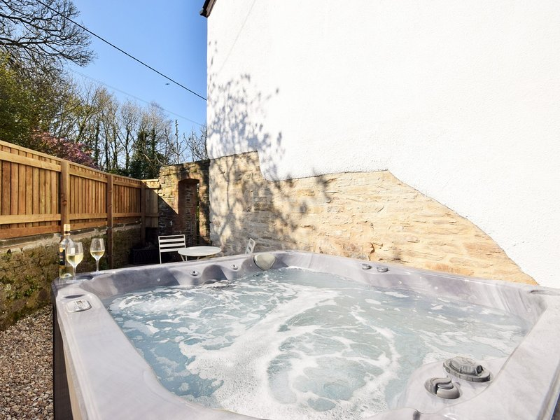 Your own private hot tub to enjoy