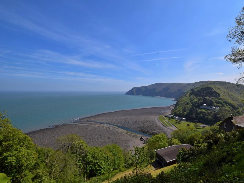 Watch the Cliff Railway head on down in to Lynton
