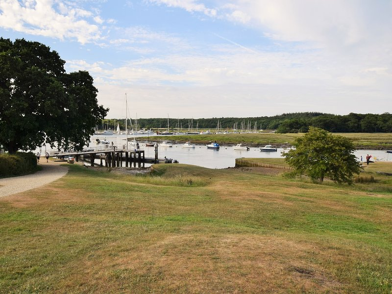 View of Bucklers Hard