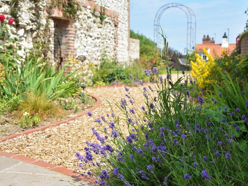 Gorgeous walled garden
