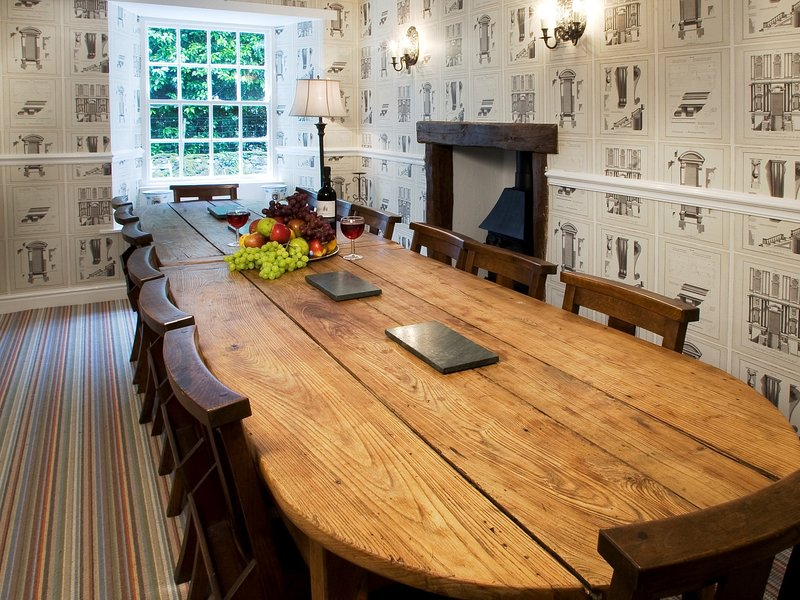A grand dining room for formal dining