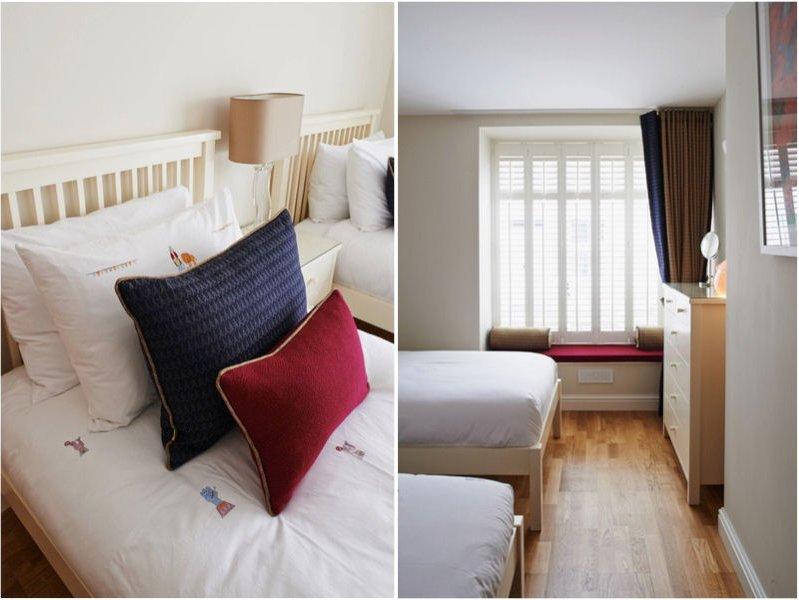 Stylish second bedroom