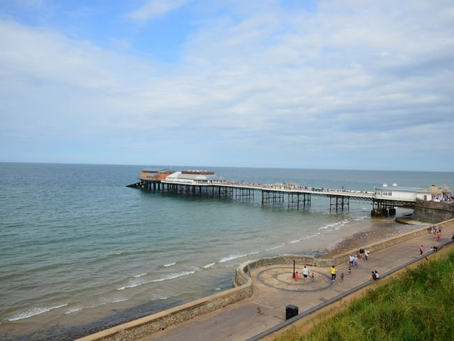 Cromer beach and the famous Cromer pier