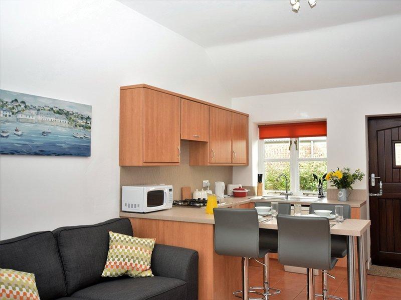 Open plan kitchen,dining,lounge area