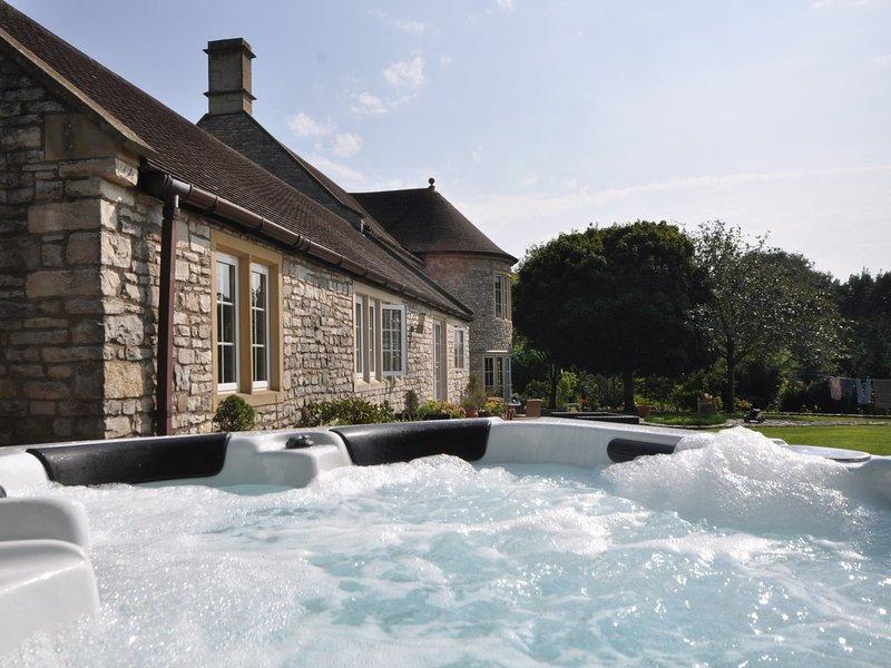 vasca idromassaggio privata