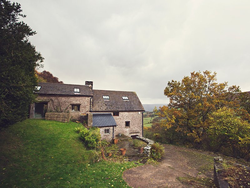 Romantic hillside cottage in the wilds of Wales