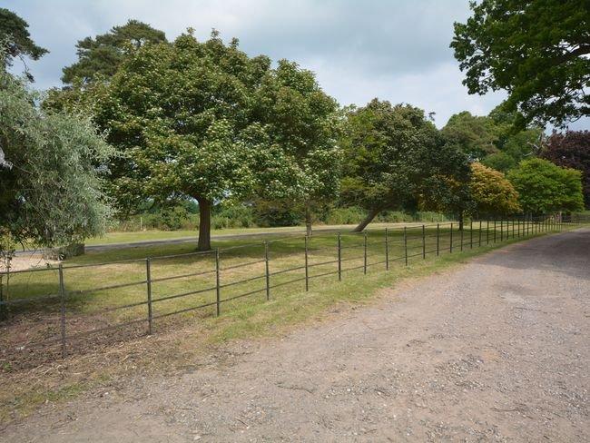 Driveway towards property