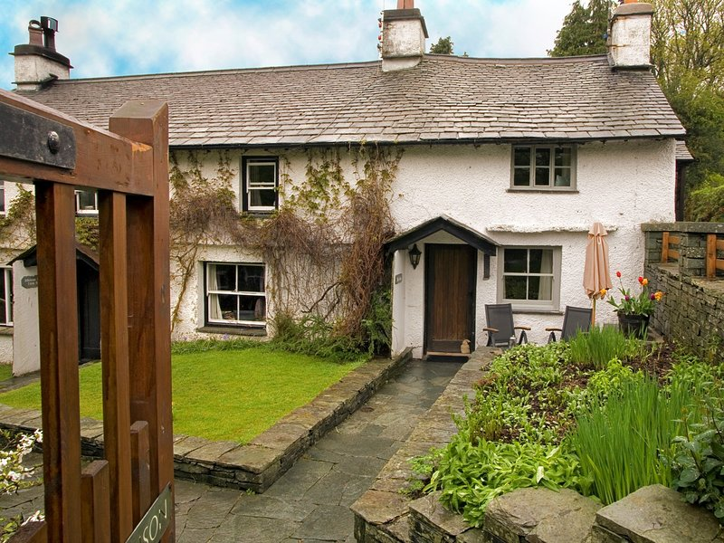 A warm welcome awaits at this cosy cottage
