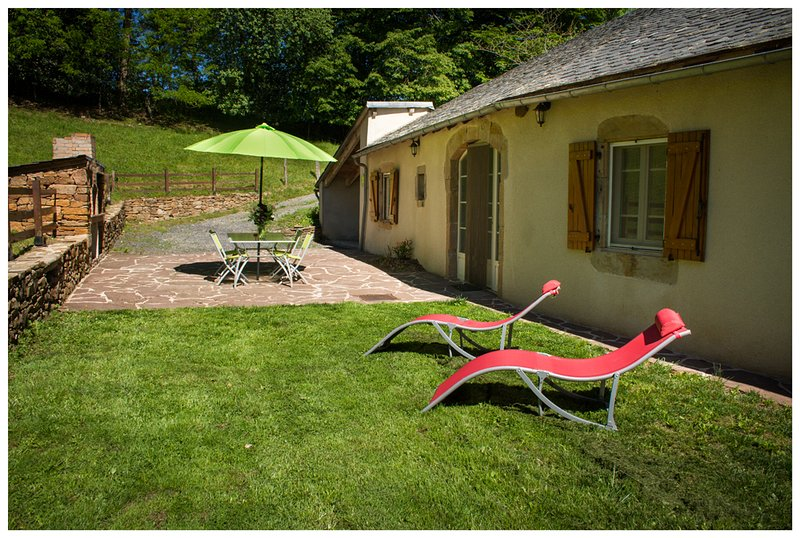 Gites d'Estours Sud Aveyron, vacation rental in Curvalle