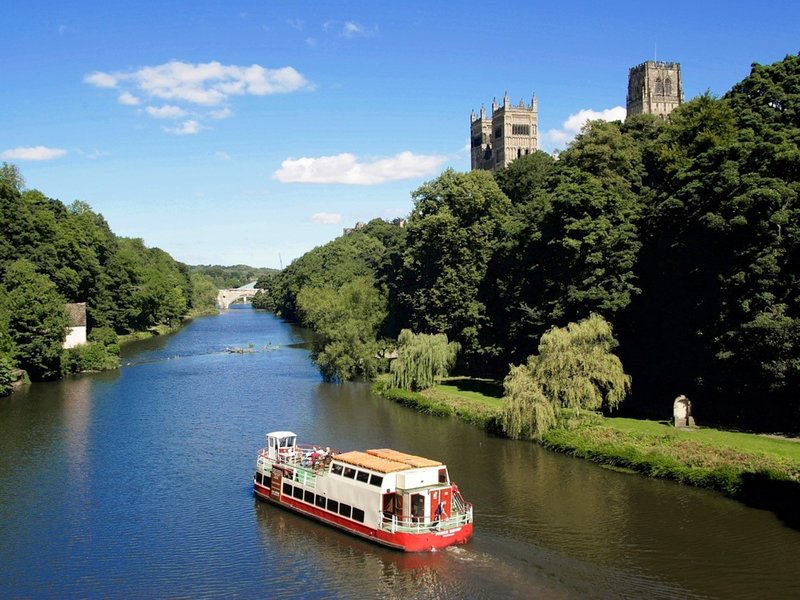 Take a trip to the historic City of Durham for a stroll around the riverbanks