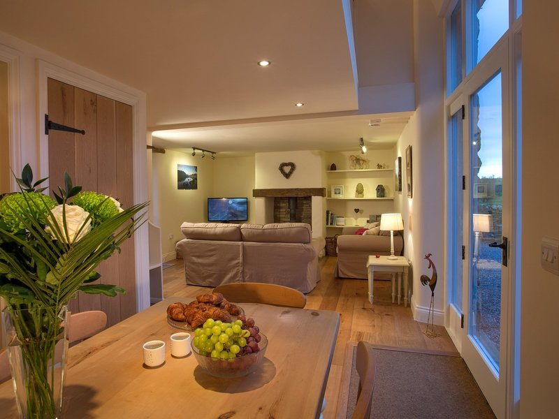 A bright and airy lounge with a homely feel