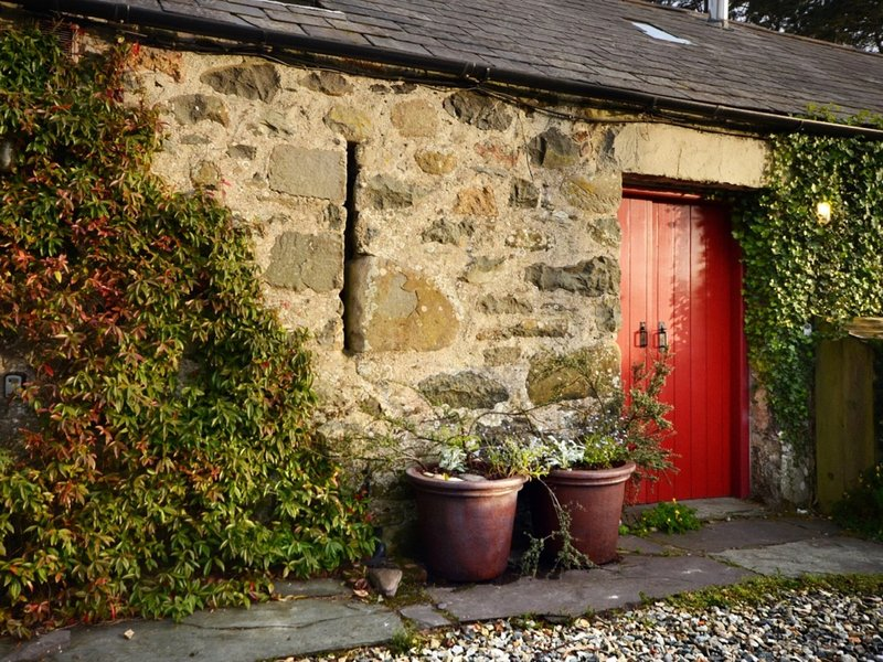Part of a traditional Welsh long house on the beautiful Llyn Peninsula