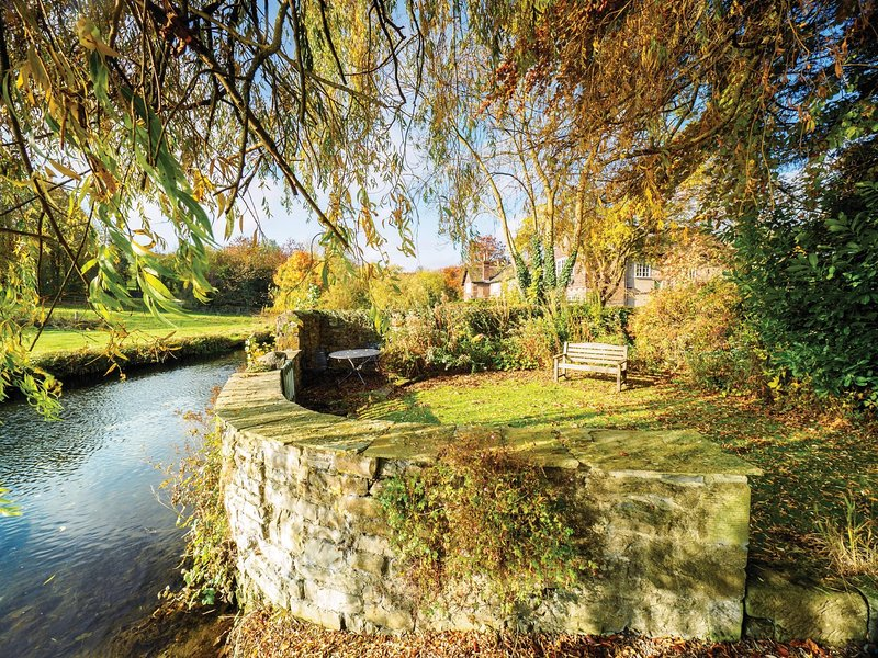 Private garden by the River Wye