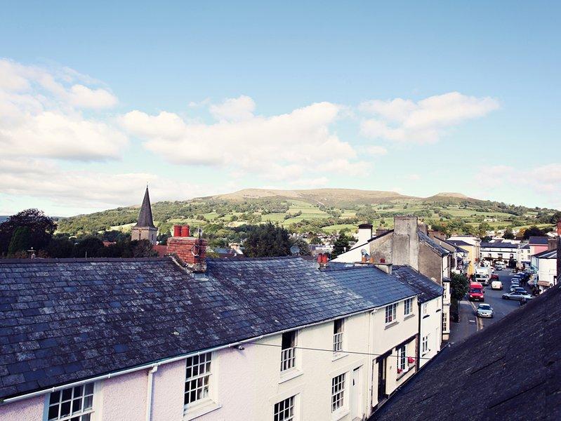 View towards Brecon Beacons