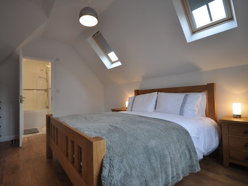 King-size bedroom,on the first floor