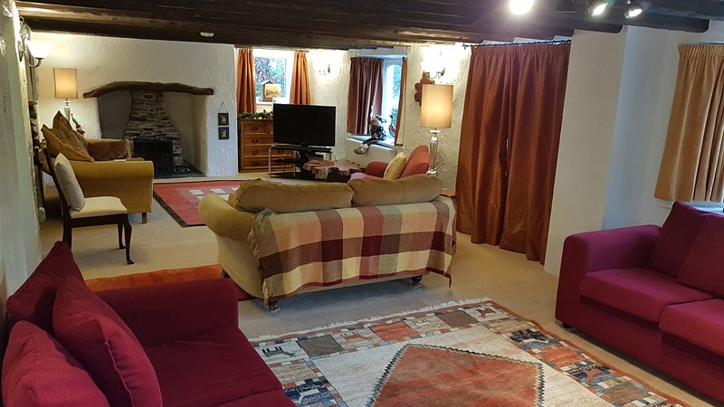 LUXURY 300 year old house with great views, vacation rental in Brazzacott