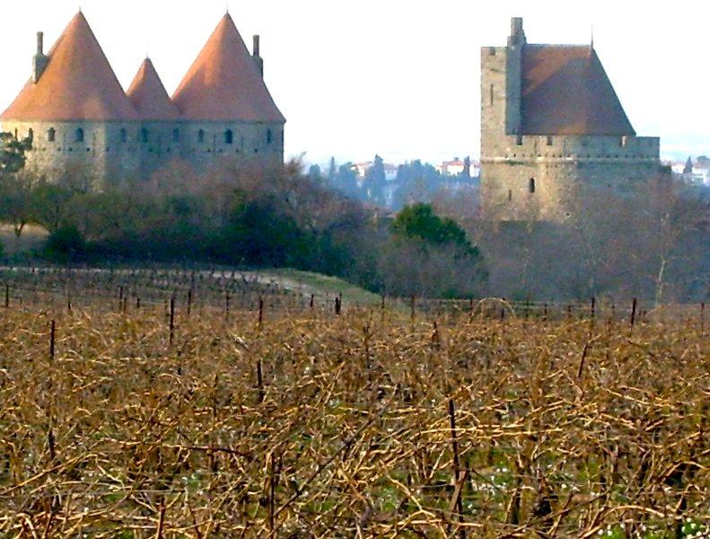 The beautiful Medieval Carcassonne Cité - a wonderful day out 55 minutes drive.