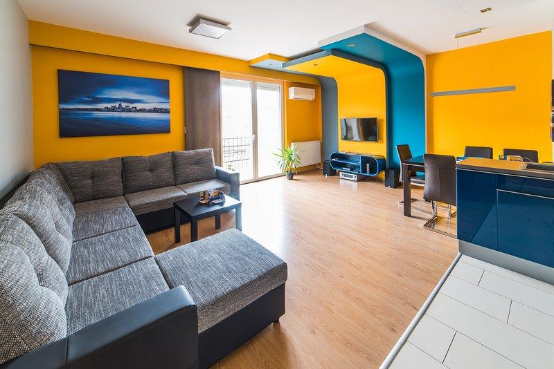 Budapest Minimal Style Apartment, casa vacanza a Leanyfalu