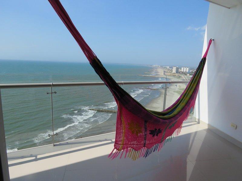 Hammock on the balcony / hammock on the balcony