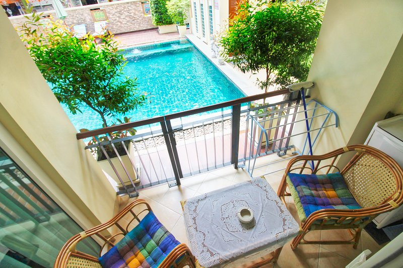 Pool access right from the Patio