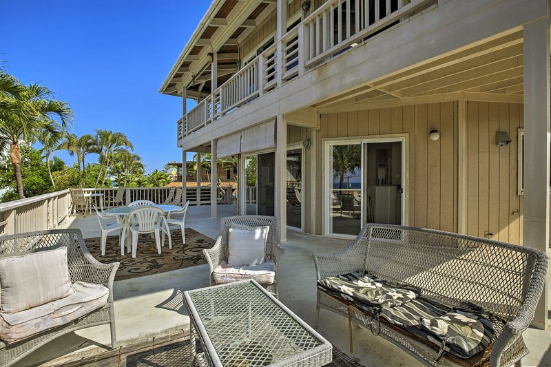 This property is within steps of the mesmerizing beach!