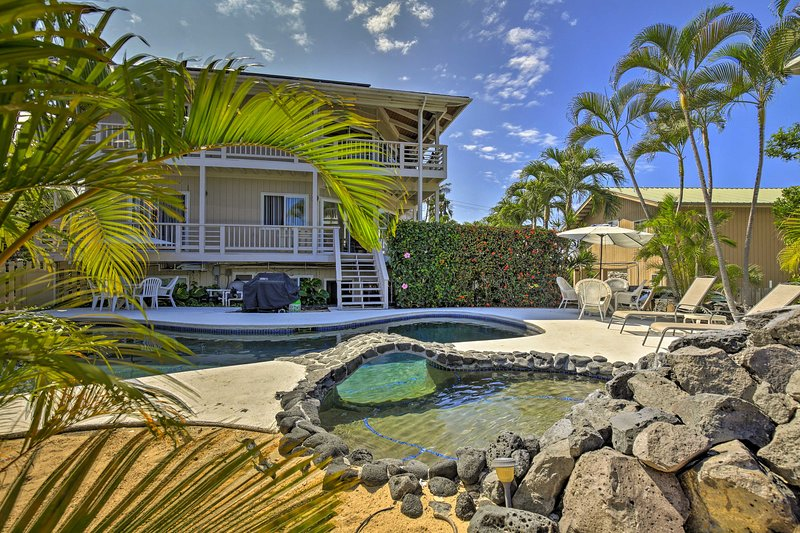 Kailua-Kona Apt. w/Pool - Half-Mile Walk to Beach!, vacation rental in Kailua-Kona