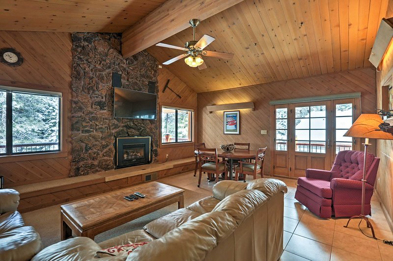 Explore Northstar Mountain from this 6-bedroom Truckee vacation rental home!