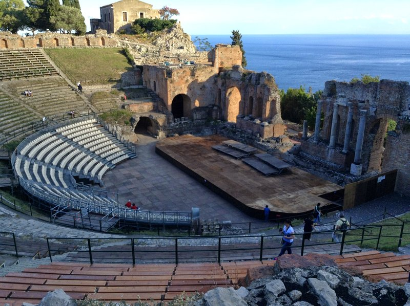 Taormina: Ancient Theater