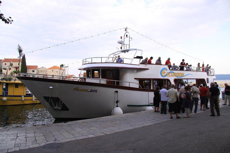 excursion en bateau Frane - 10% de réduction