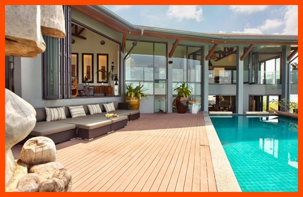 Villa 141 - 7 BR option with in-villa chef service, holiday rental in Choeng Mon