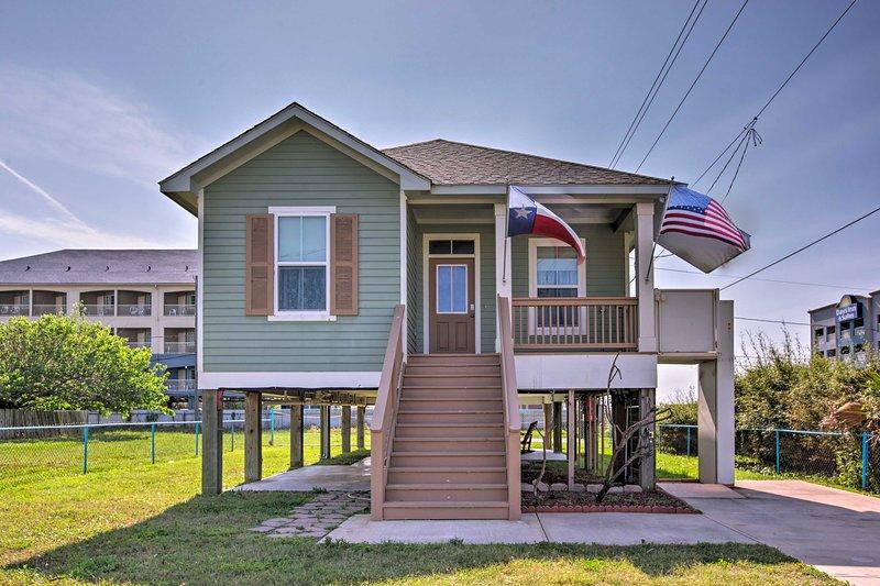 L'aventure d'une vie commence à cette location maison de vacances à Galveston!