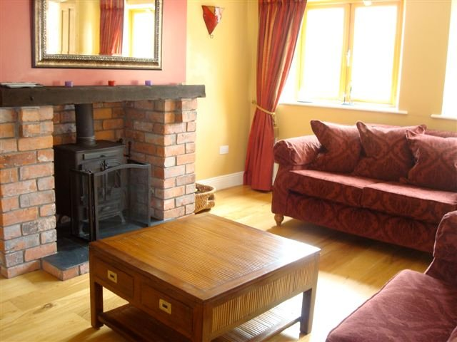 Living Room in The Coach House at Decoy Country Cottages, Navan, Co Meath