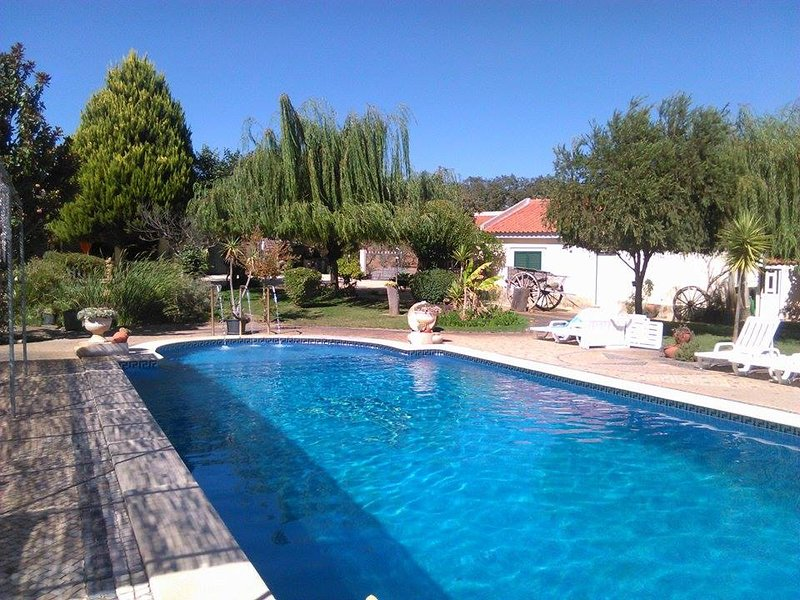 Spacious house with pool access, location de vacances à Ourique