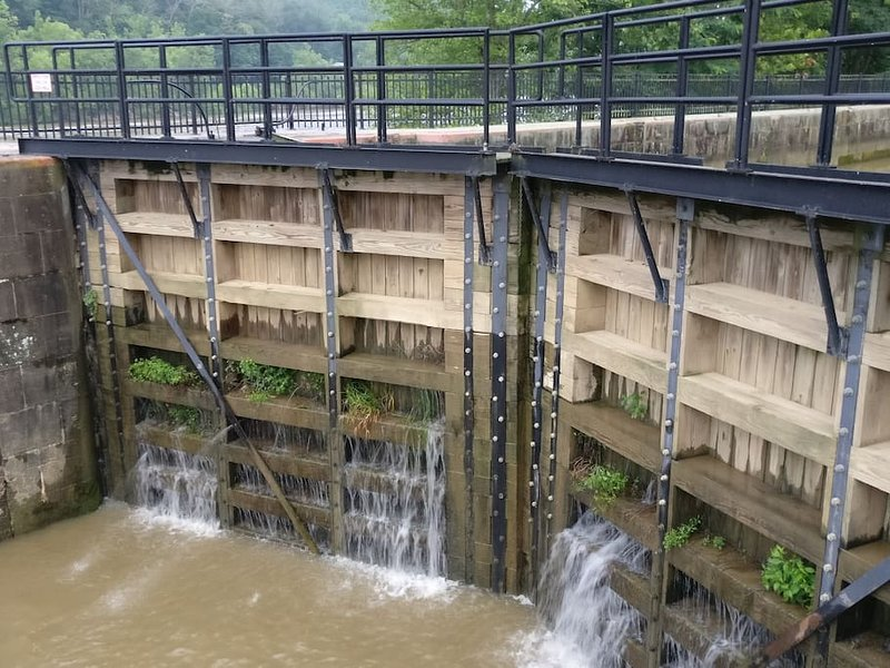 Il Lower Gates al Blocco 7, McConnelsville, Ohio