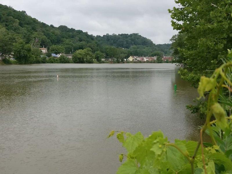 Il fiume Muskingum, McConnelsville, Ohio