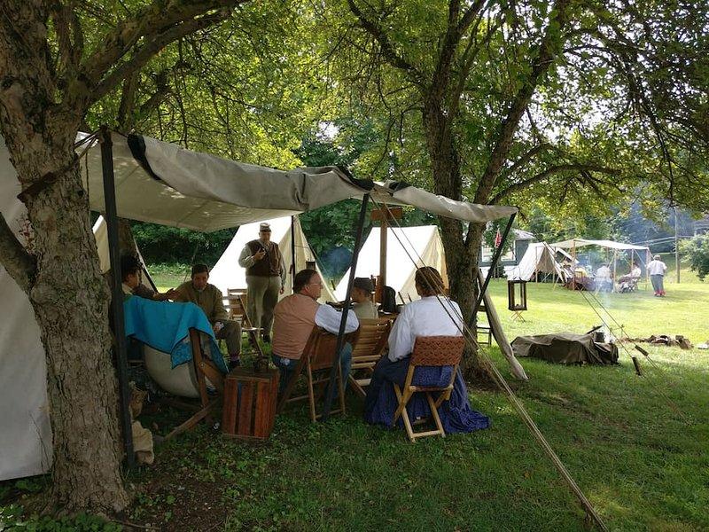 Civil War Reenactment Giorni, McConnelsville, Ohio