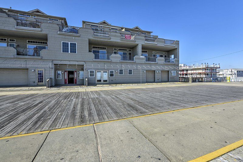 You'll be situated just steps to the boardwalk and beach!