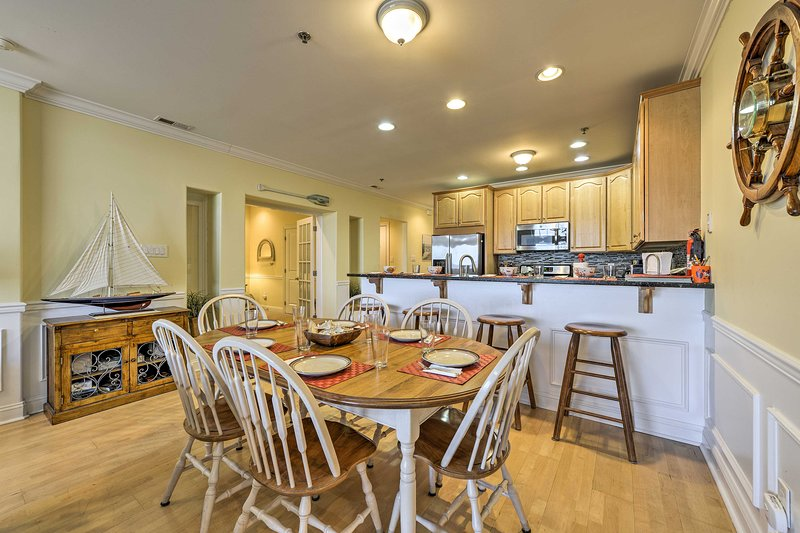 Experience luxury on your next beach vacation at this vacation rental condo!