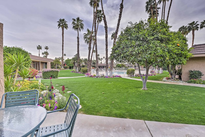 Come experience the desert in style at this vacation rental condo!