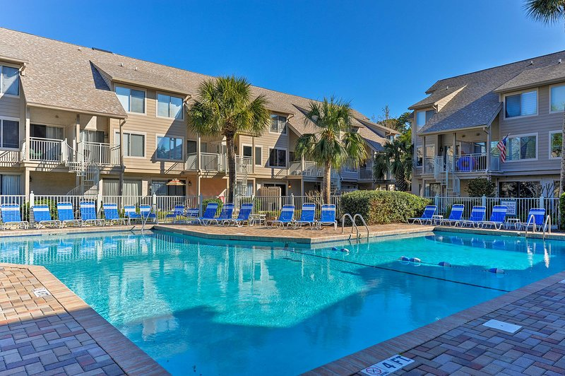 Take advantage of the numerous resort features at your disposal!