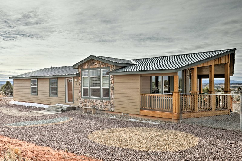 This Kanab home is in the perfect location to explore southern Utah.