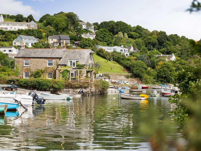 ISLAND HOUSE,  exceptional, pet friendly, waterside property with wood burning, holiday rental in Lerryn