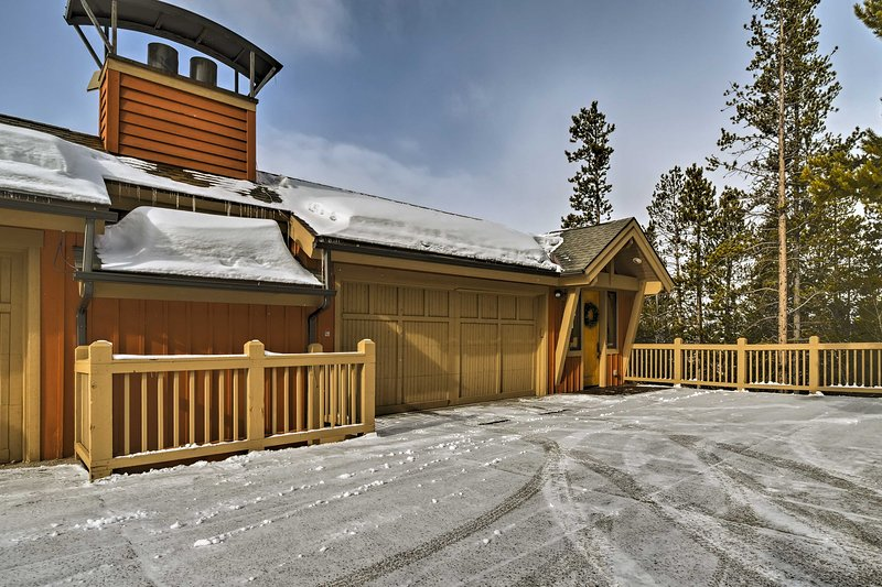 Make this beautiful Breckenridge property your new home-away-from-home.